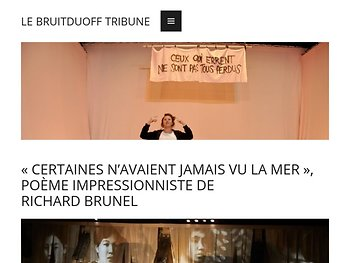 Poème impressionniste de Richar Brunel