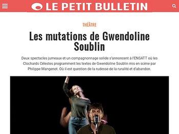 Les mutations de Gwendoline Soublin