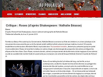 "Fresque théâtrale librement inspirée de ""Richard III"""
