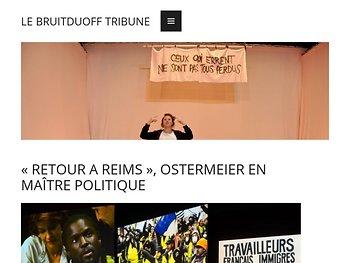 «Retour à Reims», Ostermeier en maître politique