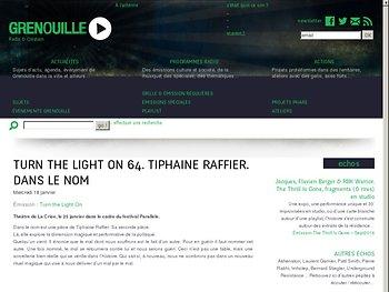 Tiphaine Raffier explore la dimension magique et performative de la politique.
