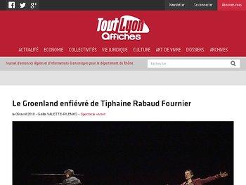Le Groenland enfiévré de Tiphaine Rabaud Fournier