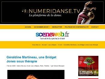 Géraldine Martineau, une Bridget Jones sous thérapie