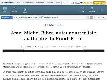 Jean-Michel Ribes, auteur surréaliste