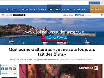 Guillaume Gallienne: «Je me suis toujours fait des films»