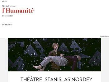 Stanislas Nordey dans la peau d'Édouard Louis