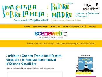 Cannes Trente-neuf/Quatre-vingt-dix : le Festival sans festival d'Etienne Gaudillère
