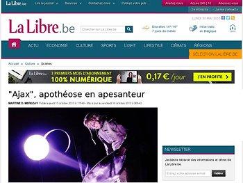 """""""Ajax"""", apothéose en apesanteur"""