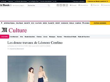 Les douze travaux de Léonore Confino