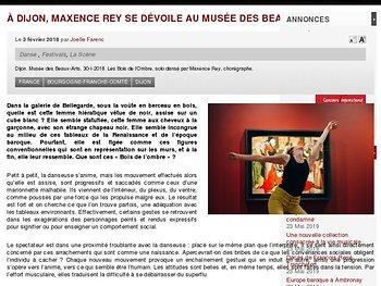 À Dijon, Maxence Rey se dévoile au Musée des Beaux-Arts