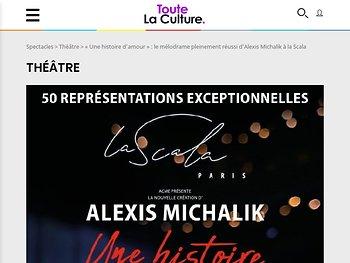 """""""Une histoire d'amour"""" : le mélodrame pleinement réussi d'Alexis Michalik"""