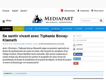 Se sentir vivant avec Tiphanie Bovay-Klameth