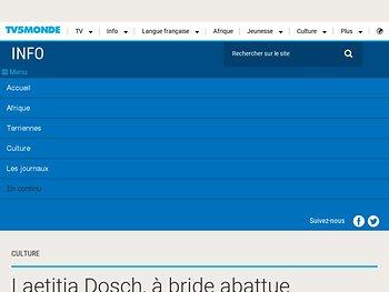 Laetitia Dosch, à bride abattue