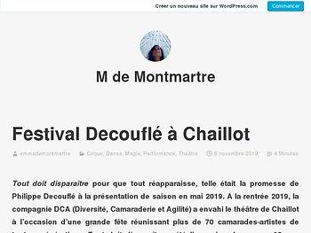 Festival Decouflé à Chaillot