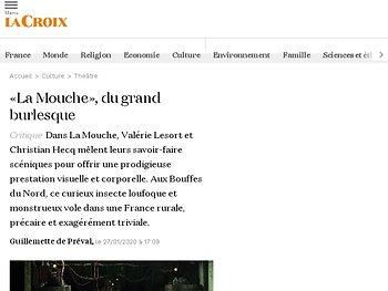 «La Mouche», du grand burlesque