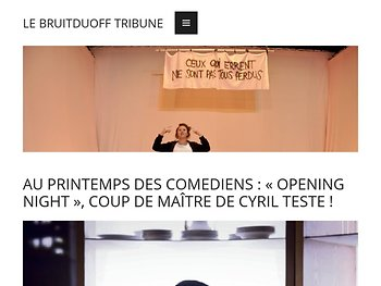 «Opening NightT»,coup de maître de Cyril Teste