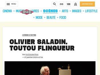 Olivier Saladin, toutou flingueur