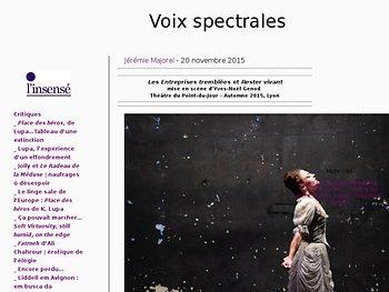 Voix spectrales