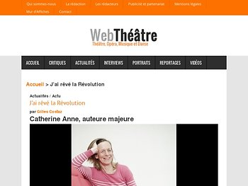 Catherine Anne, auteure majeure