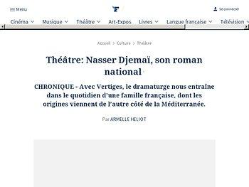 Nasser Djemaï, son roman national