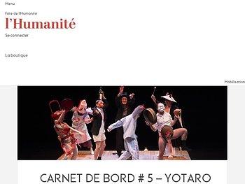 Carnet de bord # 5 – Yotaro au pays des Yôkais