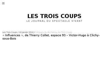 Thierry Collet, inséminateur de doutes