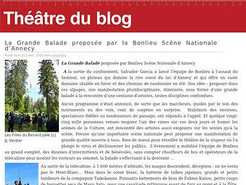 La Grande Balade proposée par la Bonlieu Scène Nationale d'Annecy
