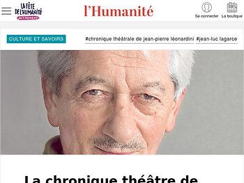 Éternel retour de Jean-Luc Lagarce