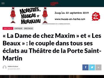 «La Dame de chez Maxim» et «Les Beaux» : le couple dans tous ses éclats