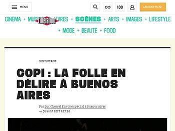 Copi : la folle en délire àBuenos Aires