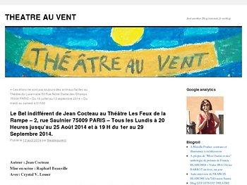 Un éclat de miroir brisé de Jean Cocteau