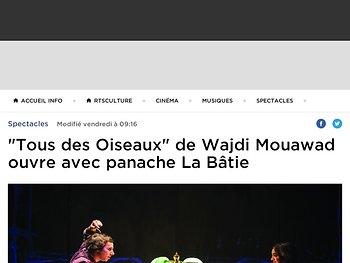 """""""Tous des Oiseaux"""" ouvre avec panache La Bâtie"""