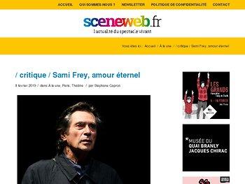 Sami Frey, amour éternel