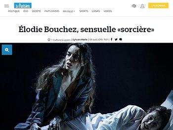 Élodie Bouchez, sensuelle «sorcière»