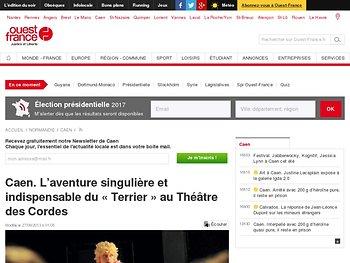 Caen. L'aventure singulière et indispensable du «Terrier» au Théâtre des Cordes