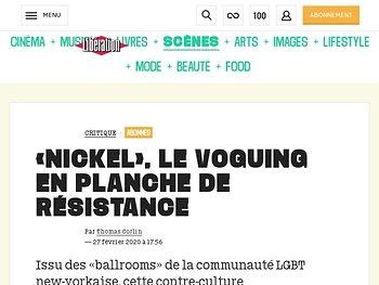 «Nickel», le voguing  en planche de résistance