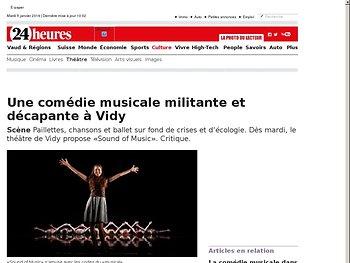 Une comédie musicale militante et décapante à Vidy
