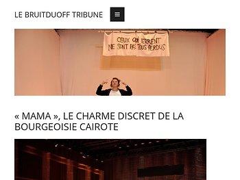 «Mama», le charme discret de la bourgeoisie cairotte
