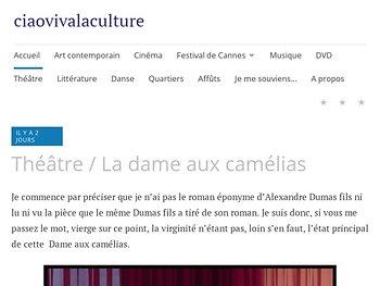"""""""La dame aux camélias"""", le sacrifice du vice à la vertu"""
