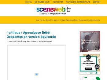 Apocalypse Bébé : Despentes en version édulcorée
