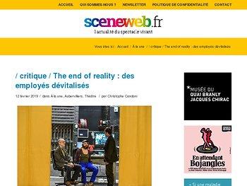The end of reality : des employés dévitalisés