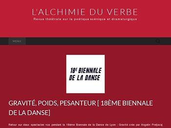Gravité, poids, pesanteur (18ème Biennale de la Danse)