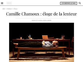 Camille Chamoux : éloge de la lenteur