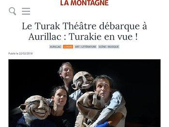 Le Turak Théâtre débarque à Aurillac : Turakie en vue !