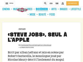 «Steve Jobs», seul à l'Apple