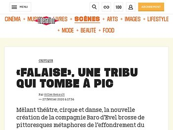 «Falaise», une tribu qui tombe à pic