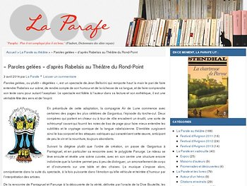 Bellorini rapproche le roman et le théâtre avec simplicité et style