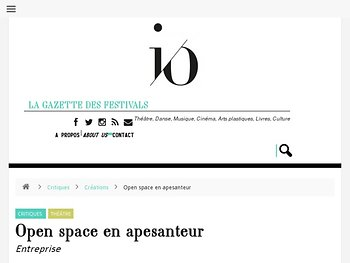 Open space en apesanteur