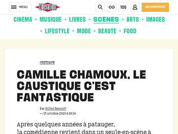 Camille Chamoux, le caustique c'est fantastique