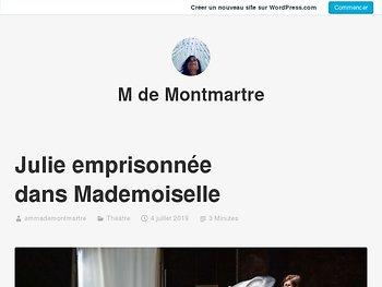 Julie emprisonnée dans Mademoiselle